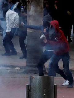 Protesta contra el uso desmedido de la fuerza pública Bogotá