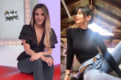 Violeta Bergonzi y 'Maleja' Restrepo