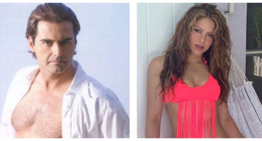 Danilo Santos y Shakira