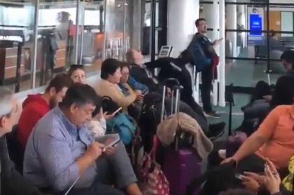 Chilenos calmados durante sismo