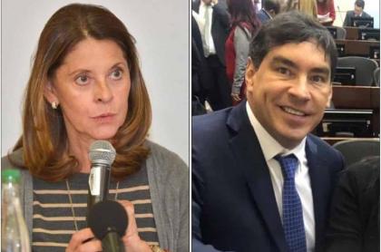 Marta Lucía Ramírez y Álvaro Hernán Prada