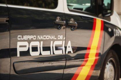 Carro de policía de España
