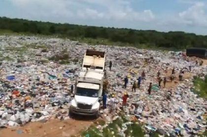Basura en Puerto Carreño