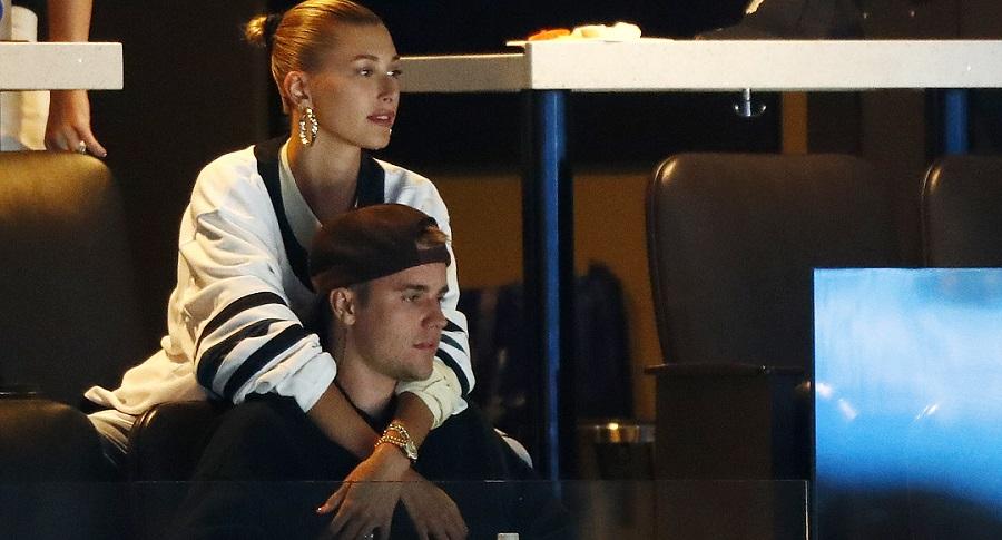 Justin Bieber, cantante, y Hailey Baldwin, modelo.