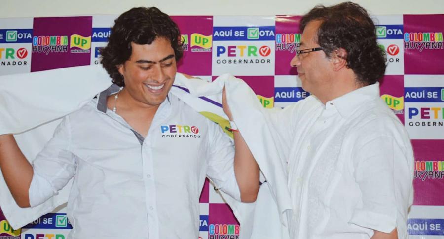 Nicolás y Gustavo Petro