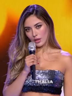 Reviven fotos sin brasier y en sexi tanga de imitadora de Thalía en 'Yo me llamo'