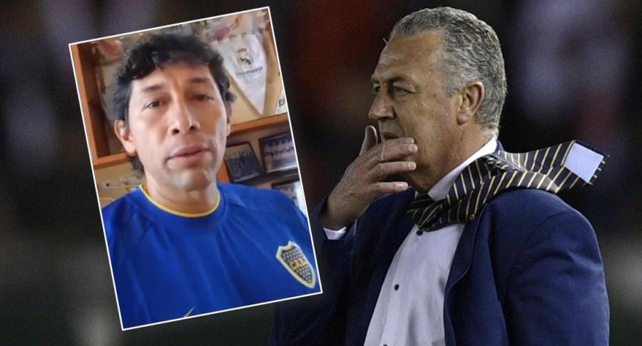 Jorge Bermúdez y Gustavo Alfaro