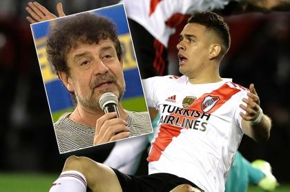 Daniel Mollo y Rafael Santos Borré