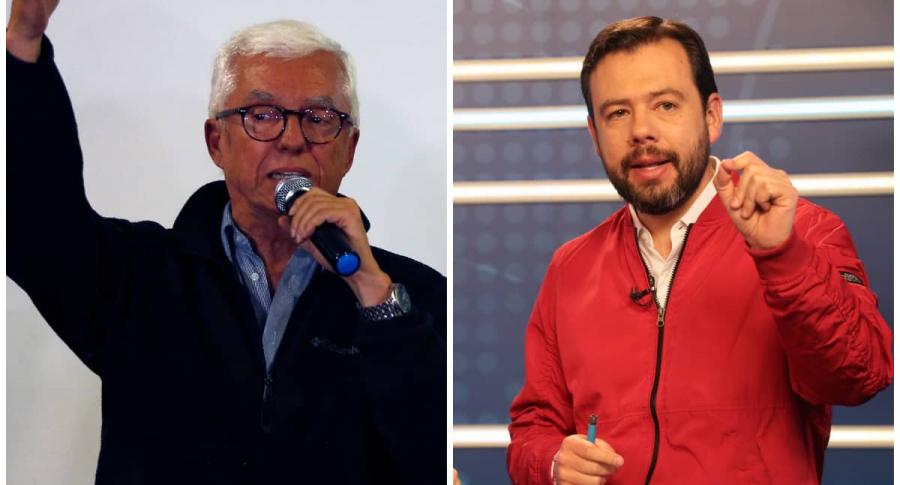 Jorge Robledo y Carlos Fernando Galán.