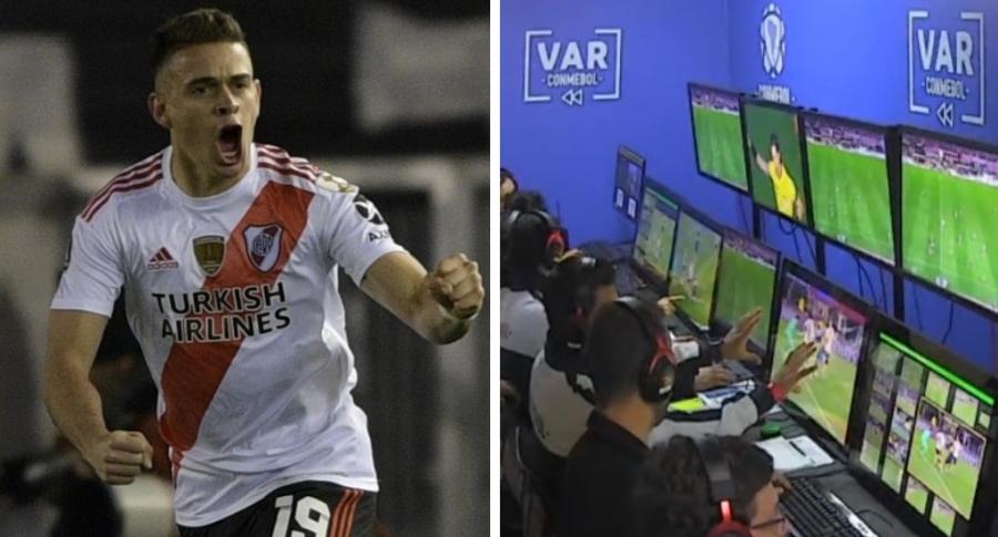 Rafael Santos Borré y VAR
