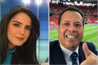 Claudia Palaciós y Javier Fernández