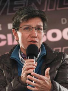 Claudia López.