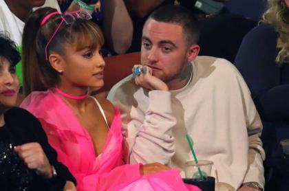 Ariana Grande y Mac Miller