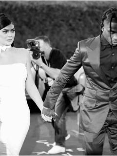 Kylie Jenner y Travis Scott / Tyga