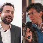 Carlos Fernando Galán y Claudia López