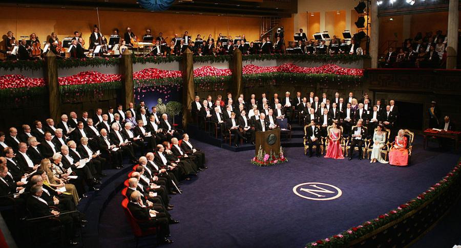 Ceremonia premio Nobel
