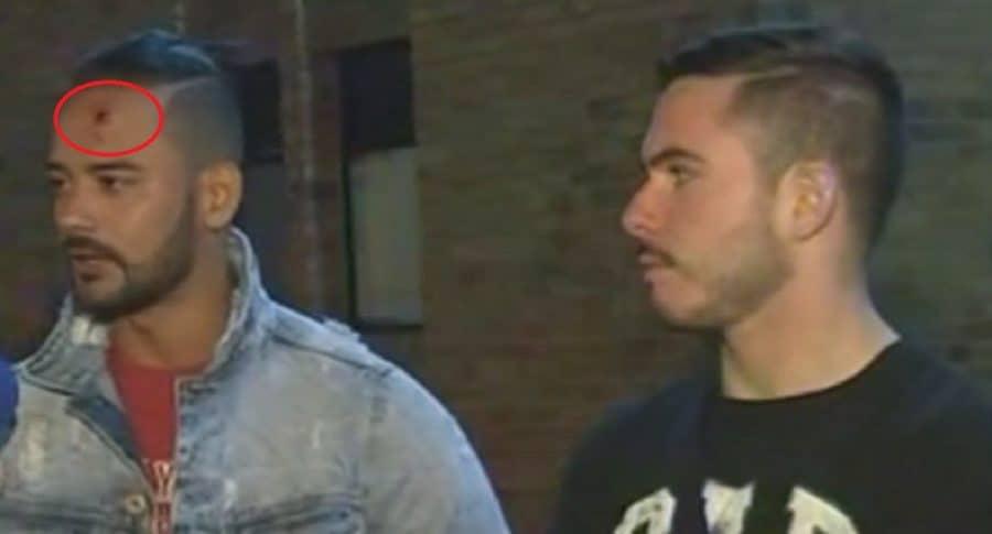 Reikin Herrera y Fabio Arboleda.