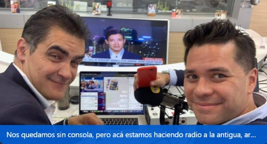 Luis Carlos Vélez y William Calderón.