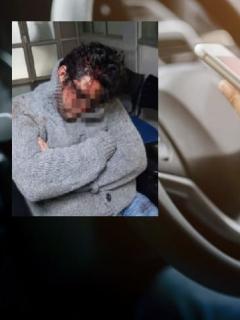 Conductor de Uber golpeado en Chile