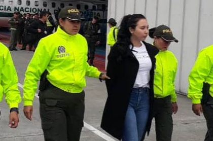 Aída Victoria Merlano llegó a Bogotá