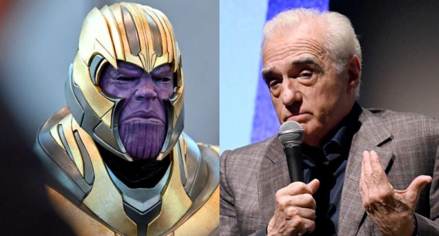 Thanos y Martin Scorsese