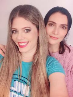 Lorna Cepeda y Ana María Orozco