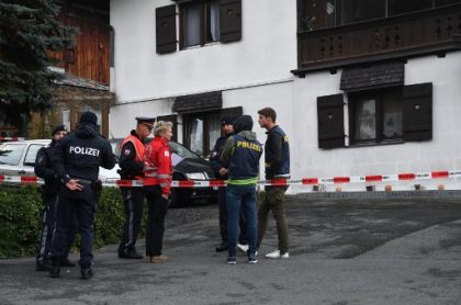 Escena del crimen en Austria