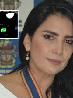 Por WhatsApp desde su celda, Aída Merlano advirtió que delataría a cómplices y planeó fuga