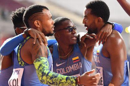 Colombia Mundial de Atletismo