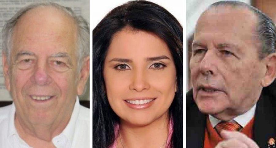 Julio Gerlein, Aída Merlano y Roberto Gerlein