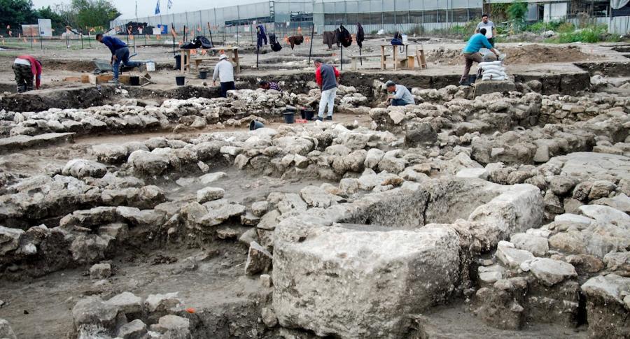 Ciudad de 5.000 años en Isreal