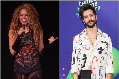 Shakira y Camilo