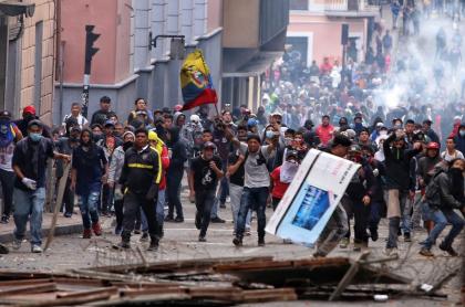 Protestas Ecuador octubre 2019