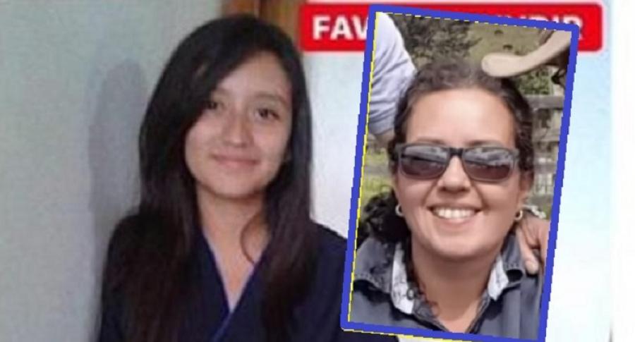 Johana Marcela Rincón y Aleida Garzón