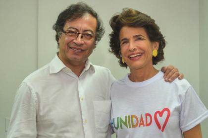 Gustavo Petro y Adelina Covo