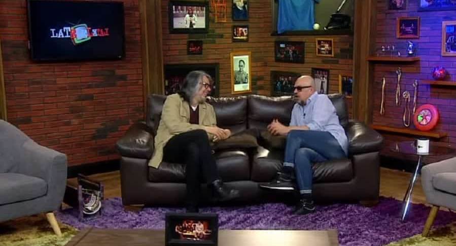 Martín de Francisco y Santiago Moure, presentadores.