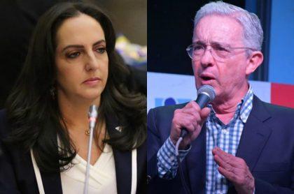 María Fernanda Cabal y Álvaro Uribe