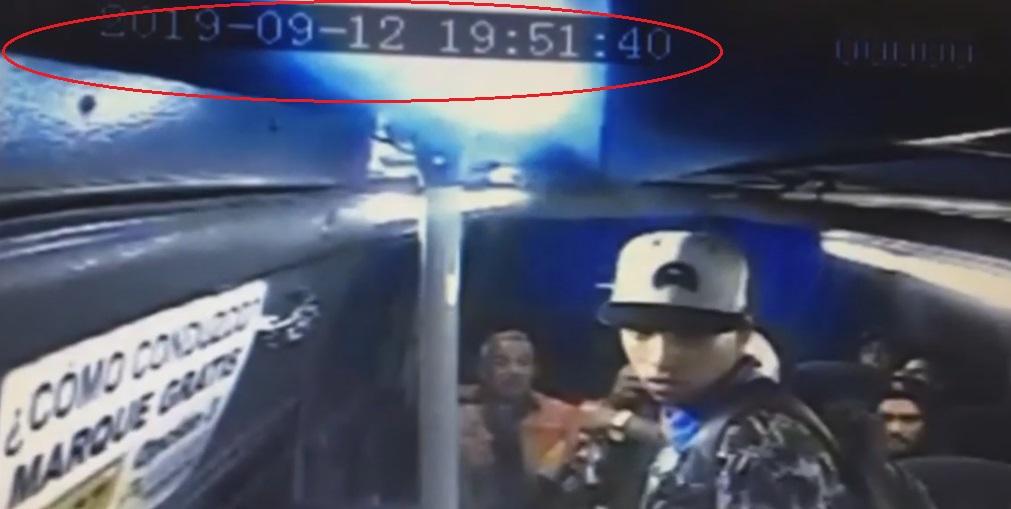 Ladrones en bus