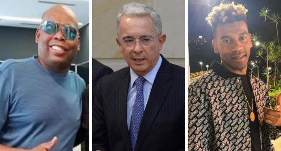 Faustino Asprilla, Álvaro Uribe y Tostao de Chocquibtown