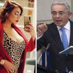 Amaranta Hank y Álvaro Uribe