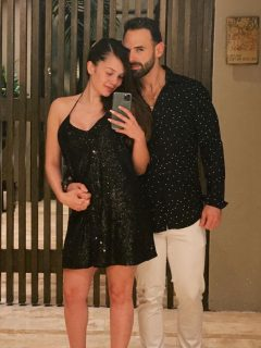 Lina Tejeiro y Norman Capuozzo