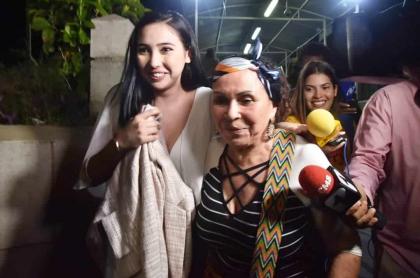 Hija de Aída Merlano en Barranquilla