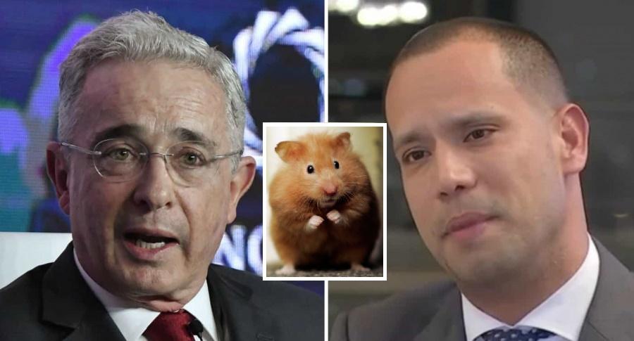Álvaro Uribe-Hámster-Abogado Diego Cadena
