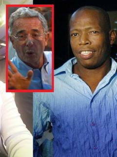 Francia Márquez, Álvaro Uribe y 'Tino' Asprilla