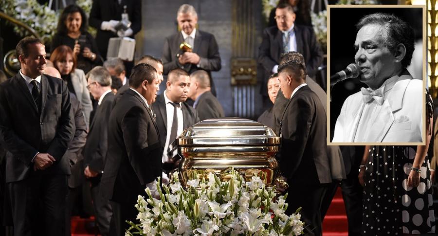 Funeral del cantante José José.