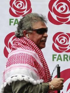 'Jesús Santrich' y 'Iván Márquez'