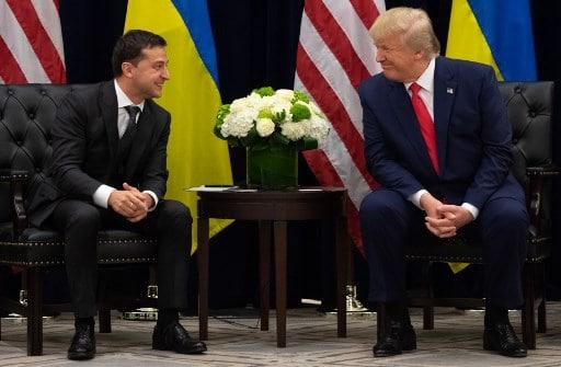 Donald Trump y Vladimir Zelenski