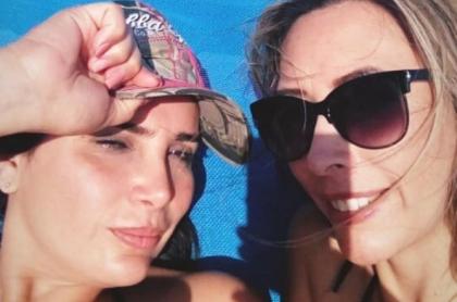 Aída Merlano y Sonia León