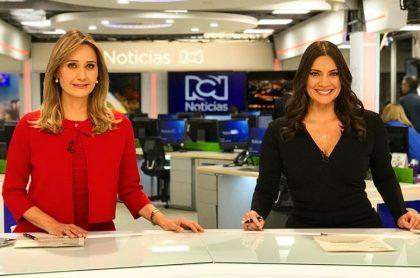 Inés María Zabaraín y Jessica de la Peña, presentadoras.