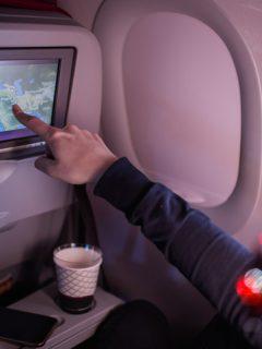 ¿Desaparecerán las pantallas digitales de los asientos de los aviones?